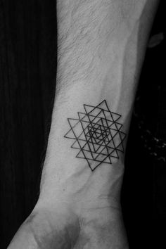 triangle mandala tattoo - Google Search
