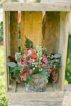 Photography: Anna Roussos - http://www.stylemepretty.com/portfolio/anna-roussos   Read More on SMP: http://www.stylemepretty.com/destination-weddings/2014/12/22/boho-chic-winter-wedding-inspiration/