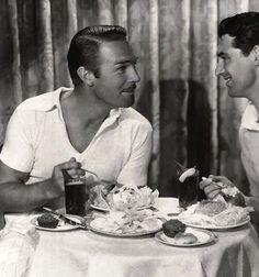 Cary Grant and Randolph Scott (374×400)