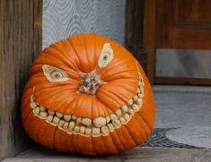 Halloween-Kürbis-schnitzen-