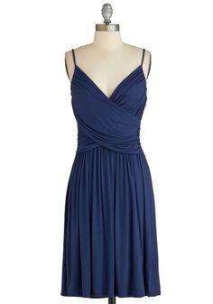 How Blue You Do? Dress, #ModCloth