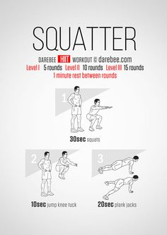 Squatter Workout