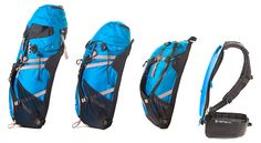 Verte Pac interchangeable pack with crazy smart suspension