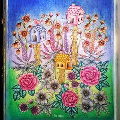 Instagram media piahultin - Blomstermandala @maria_trolle #mariatrolle #blomstermandala #flowermandala