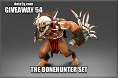 Giveaway 54 - The Bonehunter Set