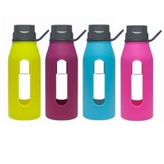 Water Bottles with a portable and stylish design that are eco-friendly, dishwasher safe and deliver fresh taste without plastic or metal flavors.
