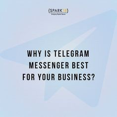 From content marketing to the promotion of offers, up to the creation of a channel for loyal customers #Telegram has proven to be the best channel for companies and business owners.💥 // Are you using Telegram for your business? Let us know in the comment below! #SparkEighteen #TelegramApp #TelegramForBusiness #TelegramChannel #SocialMediaMarketing #marketingstrategy #telegramgroup #telegramchannel #marketing #postoftheday #mondaymotivation #mondaythoughts #SP18