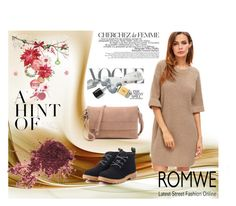 """""""ROMWE 7"""" by aida-1999 ❤ liked on Polyvore featuring La Femme"""