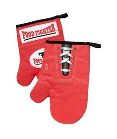 Boxing Glove Hot Mitts #gifts