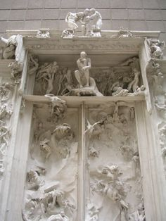 Les portes de l'enfer - Auguste Rodin