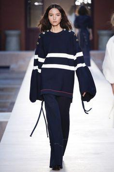 Sonia Rykiel Spring 2017 Ready-to-Wear Collection Photos - Vogue Fashion Week, Fashion 2017, Runway Fashion, Fashion Show, Fashion Outfits, Paris Fashion, Sonia Rykiel, Nautical Fashion, Vogue Russia