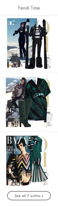 """""""Fendi Time"""" by eleonoragocevska ❤ liked on Polyvore featuring Fendi, Chanel, Tom Ford, Yves Saint Laurent, Sergio Rossi, Blue Nile, women's clothing, women's fashion, women and female"""