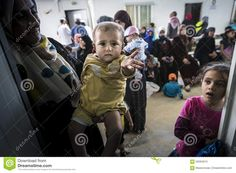 Al Zaatari Refugee Camp - Download From Over 45 Million High Quality Stock Photos, Images, Vectors. Sign up for FREE today. Image: 56394613