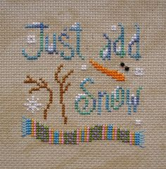 Snowman - Snow - Winter - Just add snow - Fun - Text