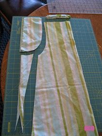 """ocd: obsessive crafting disorder: Pillowcase dress tutorial- Style 1: """"The Classic"""""""