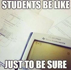 This is me. We're doing algebra for the first time and I'm actually getting the hang of it so far. Test on Monday :P