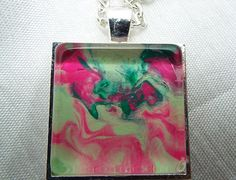 Emerald and pink by Brittani on Etsy