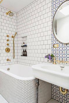 bathroom tile mix up!