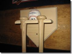 Six (6) mini baseball bat rack. Ships unfinished or your choice of Unfinished Bat Bedroom Ideas on tile bedroom, painted bedroom, how i met your mother bedroom, cupcake bedroom, metal bedroom, mahogany bedroom, laminate bedroom, yellow bedroom, plain bedroom, orange bedroom, abandoned bedroom, wood bedroom, living room bedroom, brown bedroom, brick bedroom, custom bedroom, teak bedroom, red bedroom, colonial bedroom, basement bedroom,