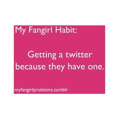 This is the only reason i even have one. @JennyLopez110 follow me on twitter :)