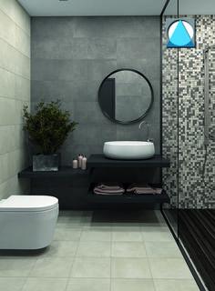 Industrial Bathroom Design, Modern Bathrooms Interior, Modern Bathroom Design, Bathroom Interior Design, Diy Bathroom Decor, Bathroom Inspo, Bathroom Styling, Bathroom Inspiration, Home Design Decor