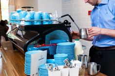 Blue! Colonna & Small's....