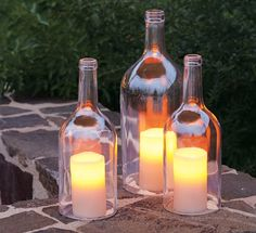 Cool and budget friendly way to keep the table lit for your upcoming Labor Day BBQ.