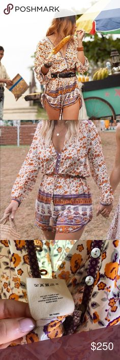 🦄💫 FINAL DROP- Unicorn tears- Gypsy Love Romper Sending back this weekend if not sold- final price due to posh fees.   Gypsy Love Romper- XS Looking for swaps as rare as these unicorns 🦄 Or will sell for price listed.   My unicorn list: Hotel Paradiso set or strappy Jagger items  Panther Jacket  Rambling Rose Gown  Revolver Kimono- I also love Kimonos  Happy to add RRP and open to considering any gems💎  🙏🏽 Mahalo ❤️ Spell & The Gypsy Collective Other