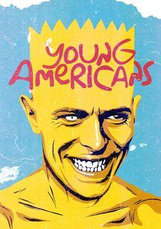 Oilustrador brasileiro Butcher Billy transformaDavid Bowie em vários personagens da cultura pop stylo urbano-3