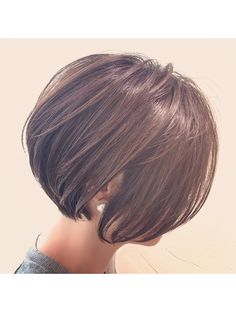 Medium Short Hair, Short Wavy Hair, Short Hair Cuts For Women, Long Hair Cuts, Medium Hair Styles, Short Hair Styles, Gorgeous Hair Color, Hair Streaks, Hair Arrange