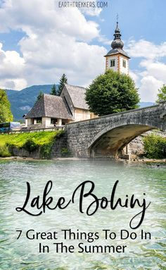 May 2019 - Water sports, hiking, scenic views.here are the best things to do at lovely Lake Bohinj in Slovenia. European Destination, European Travel, Winter Travel, Summer Travel, Amazing Destinations, Travel Destinations, Cool Places To Visit, Places To Go, Slovenia Travel