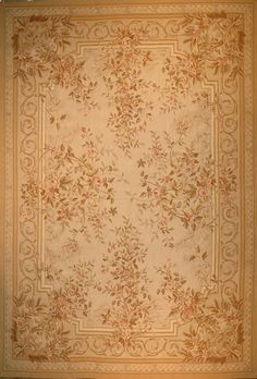 Aubusson Rug - French Floral | eBay Mad Money, Aubusson Rugs, Rose Bouquet, Carpets, Needlepoint, Minis, Tapestry, French, Dolls