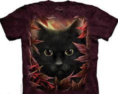 Autumn Cat Cats and Kittens Shirt