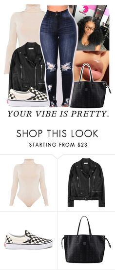 """""""-VANS CONTEST-"""" by bxtchslayy ❤ liked on Polyvore featuring Vans and MCM"""
