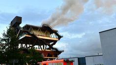 Brände Feuer im niederländischen Expo-Pavillon