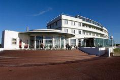 Art Deco gem - the Midland Hotel, Morecambe, Lancashire