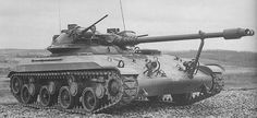 T92 - project or very mobile airborne/airdropped light tank, as a replacement for M41 Walker Bulldog. Developed in 1950s, but never accepted to service. It had a crew of four and 76 mm cannon with with a semi-automatic loading system located in very low profile turret.
