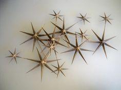Jere Atomic Starburst Sculpture Art Wall Curtis Mid Century Modern Eames | eBay