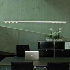 Für eine perfekte Beleuchtung Ihres Arbeitsplatzes eignet sich diese LED Pendelleuchte ganz hervorragend.