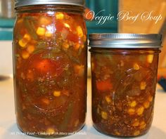 Canning Vegetable Soups, Canning Soup Recipes, Pressure Canning Recipes, Canning Vegetables, Veggie Soup, Veggies, Canning Potatoes, Freezing Vegetables, Baked Butternut Squash