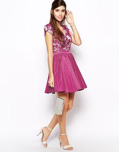 vestido corto asos