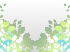 Stylized nature leaves vector illustration