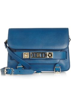 Proenza Schouler | The PS11 Classic textured-leather shoulder bag