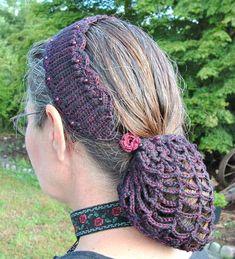Easy Crochet Snood Headband – Free Pattern