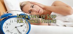 Do you feel like you never get enough sleep? Are you feeling depressed or anxious and also suffer with thyroid disease? Learn why it is so... How much sleep do you get every night??? Most of the time we're fatigued! Ƹ̵̡Ӝ̵̨̄Ʒ   But WHY and how do we get better sleep as thyroid patients? ▼  http://thyroidnation.com/importance-sleep-patients-thyroid/  #Thyroid #Sleep #EMFs