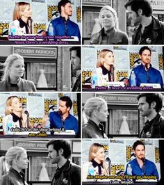 Colin firmly saying it's always been there, and Jen having no clue it was there...oh well, we can dream...