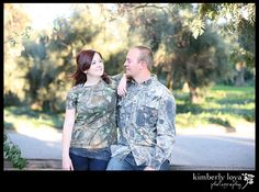 Duck Hunters engagement photography, Camo engagement session, Duck Dynasty style engagement session