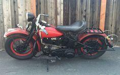 Harley-Davidson EL Knucklehead - Left Side