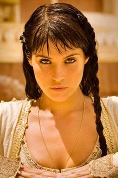 There is something about her that just makes me breathless.   Gemma Arterton-- Princess Tamina