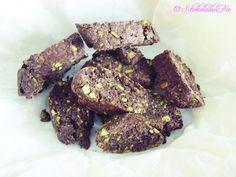 Schokoladen-Pistazien Biscotti